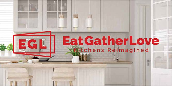 EatGatherLove - Kitchens Reimagined  slide 1