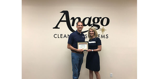Anago Cleaning Systems - Master Franchise Opportunity slide 1