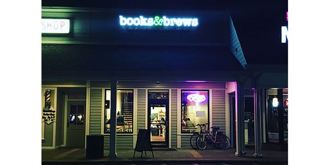 Books & Brews slide 1