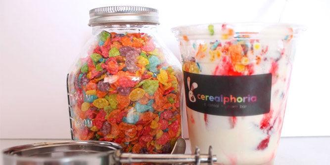 Cerealphoria - a cereal + shake bar slide 9