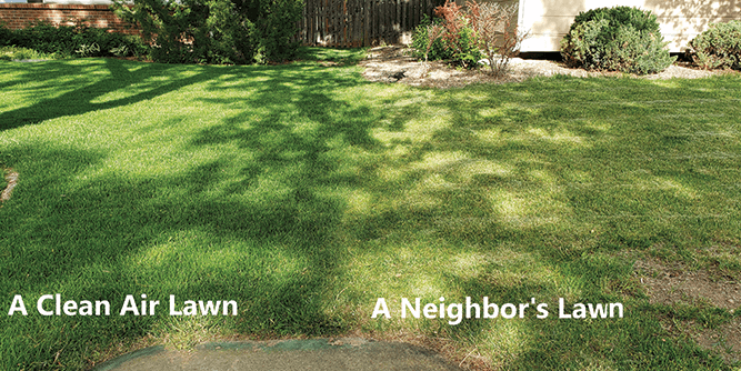 Clean Air Lawn Care slide 4