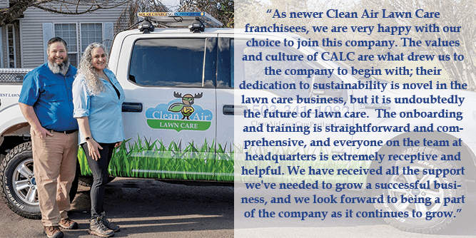 Clean Air Lawn Care slide 5