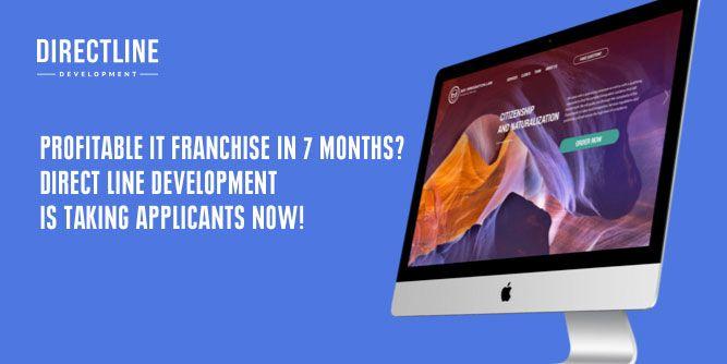 Direct Line Development  slide 1