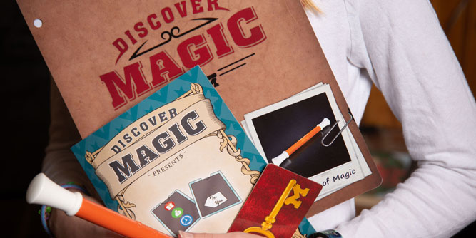 Discover Magic - Magic Lessons for Children slide 1