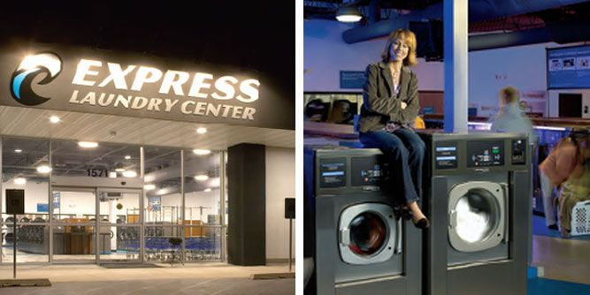 Express Laundry Centers slide 1