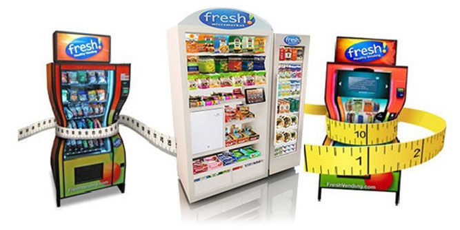 Fresh Healthy Vending slide 1