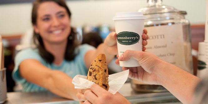 Greenberry Coffee slide 1