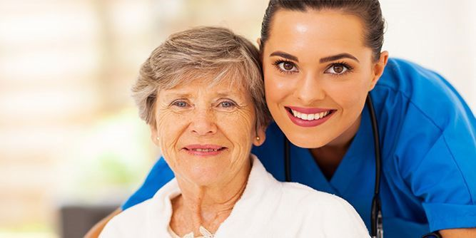 At Home Eldercare slide 1