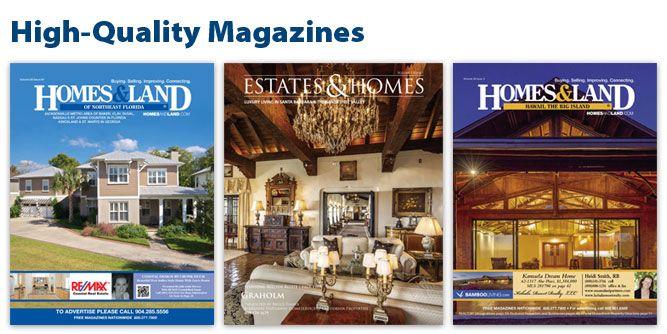 Homes & Land Magazines slide 2