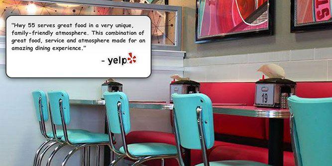 Hwy 55 Burgers Shakes & Fries slide 1