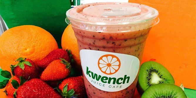 Kwench Juice Cafe slide 3