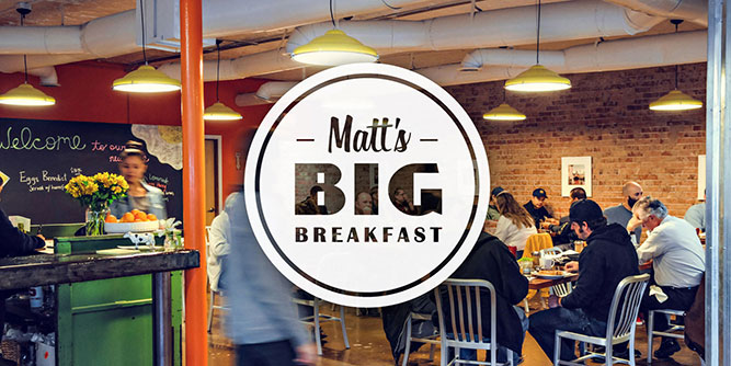 Matt's Big Breakfast slide 1