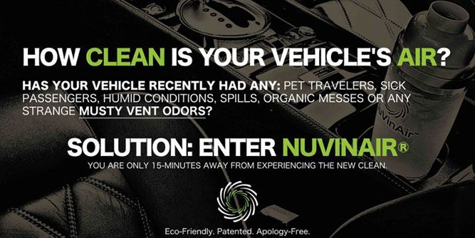 NuVinAir - Raising the Bar on Vehicle Cleanliness  slide 7