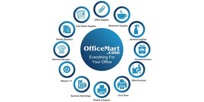 Office Mart slide 1