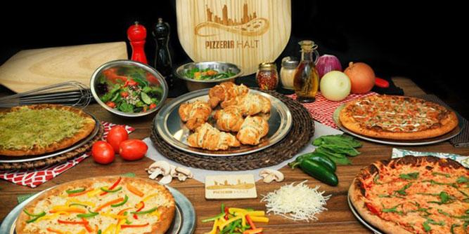 Pizzeria Halt - Vegan/Veggie Pizza slide 2