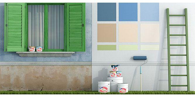 Regent Paints slide 1