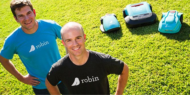 Robin Autopilot - Robotic Lawn Care slide 1