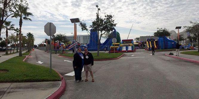Space Walk Bounce Houses slide 7