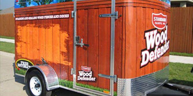 Standard Paints / Wood Defender slide 1