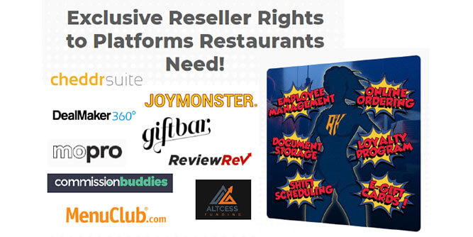 The Restaurant Heroes - Market Exclusive License Software and System slide 2