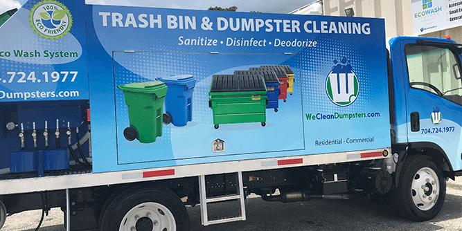 We Clean Dumpsters slide 1