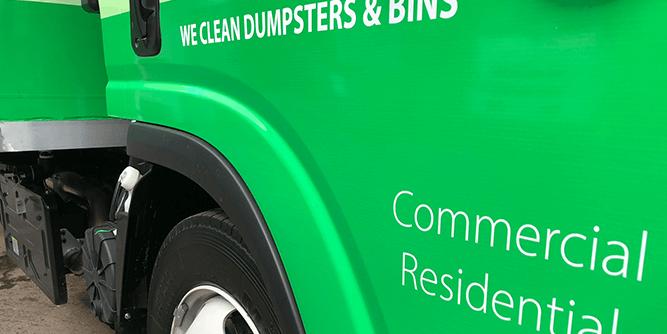 We Clean Dumpsters slide 3