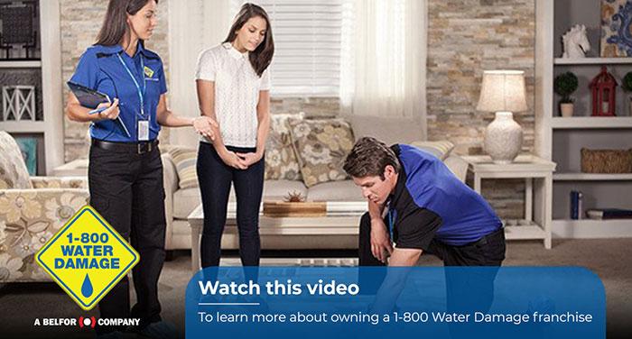 1-800 WATER DAMAGE Franchise - Brand Story