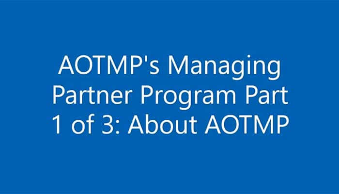 Part 1 in a 3-part series - Intro into AOTMP