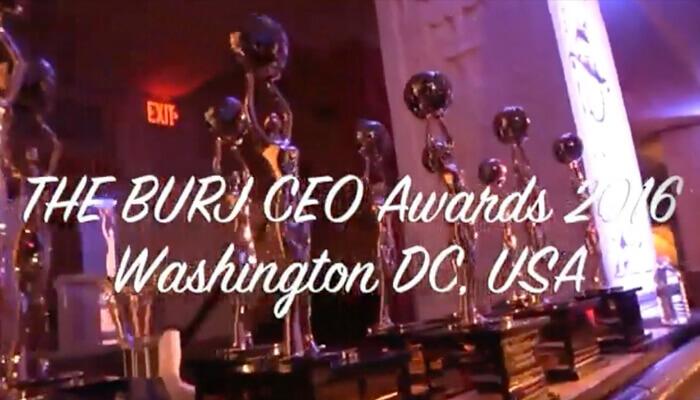 Recap of the BURJ CEO Awards 2016 - 2018