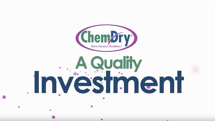 ChemDry Franchise - A Quality Investment