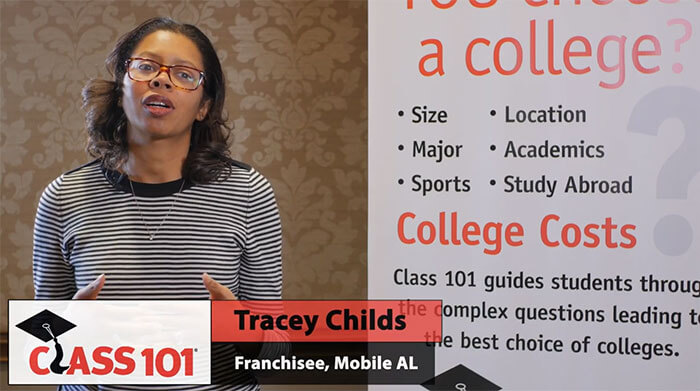 Class 101 Franchisee Testimonial: Tracey Childs