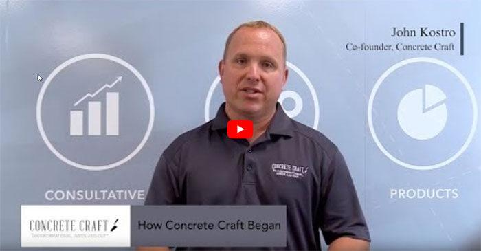 Meet John Kostro, Co-Founder of Concrete Craft