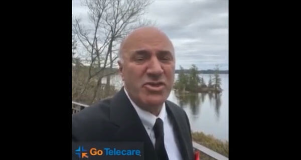 Please see what Kevin O Leary a.k.a Mr. Wonderful has to say about GoTelecare
