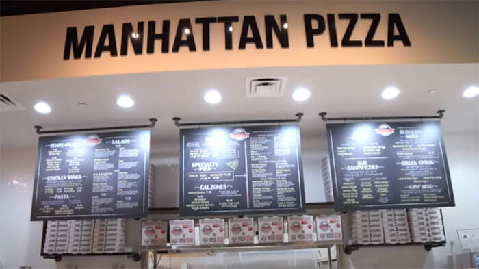 MANHATTAN PIZZA Tour of Store