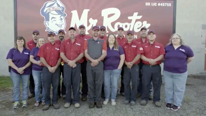 Mr. Rooter Plumbing Franchisee of the Year 2017