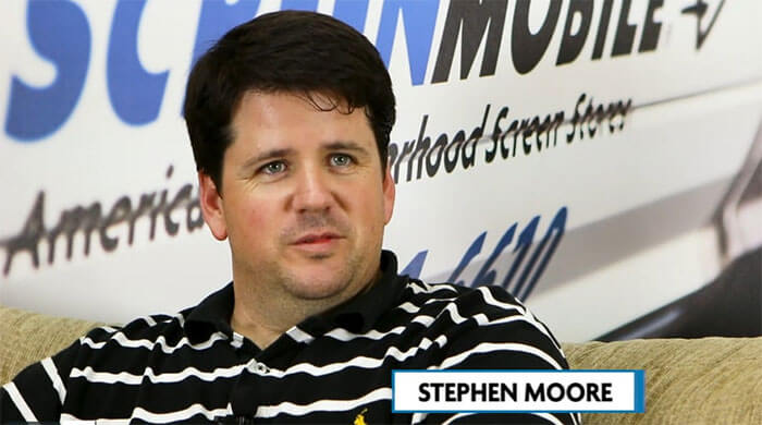 Interview with Screenmobile Franchise Owner Stephen Moore