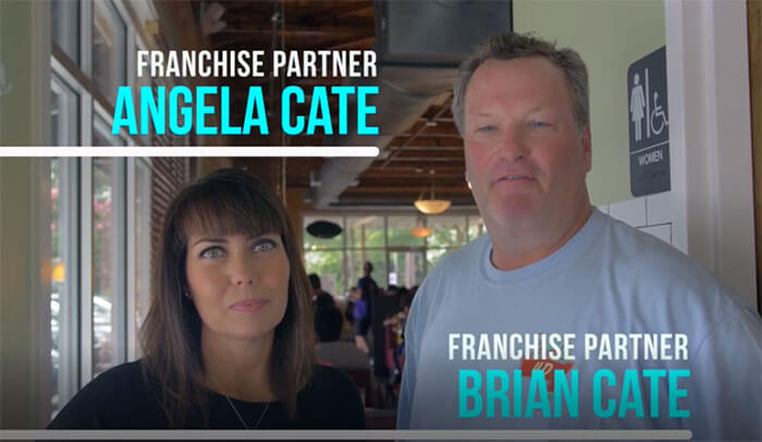 Thumbs Up Diner Franchise Partners - Angela and Brian Cate