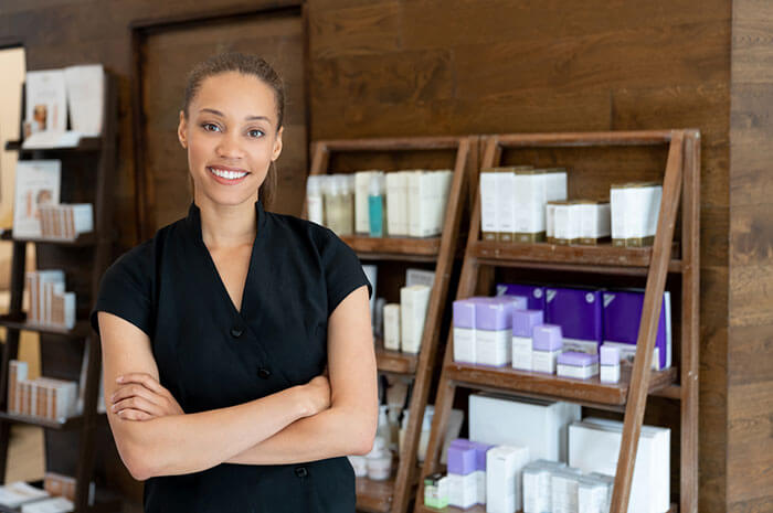 beauty supply owner