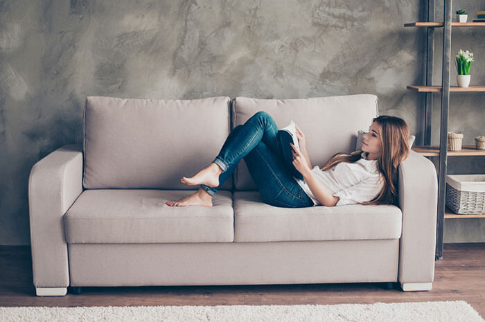couch reading