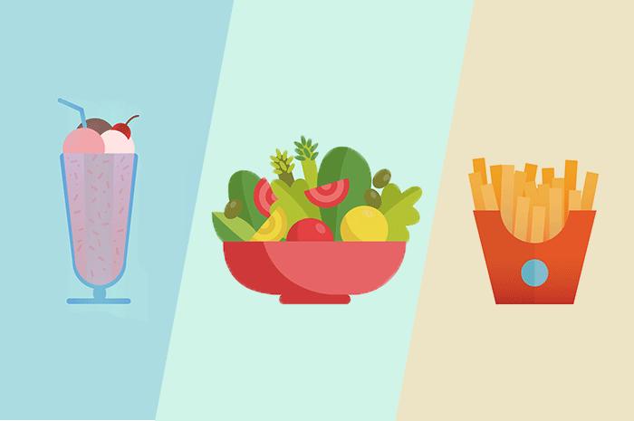 fast food calories comparison