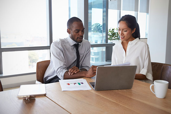 boardroom laptop meeting