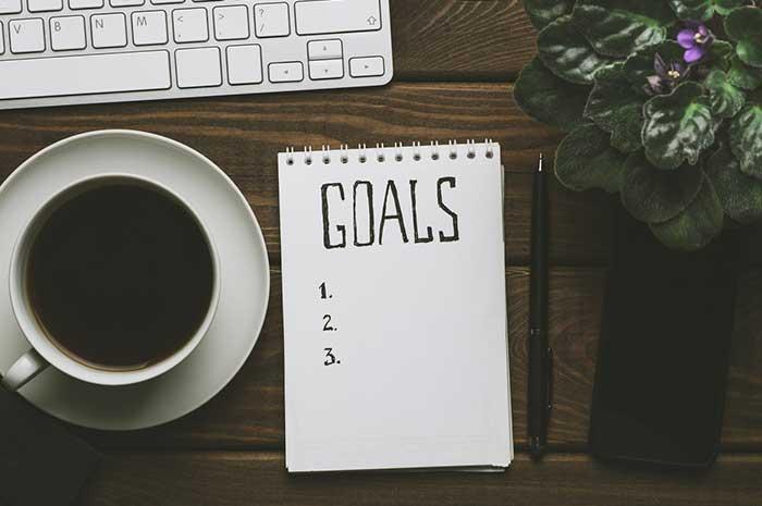 notepad goals