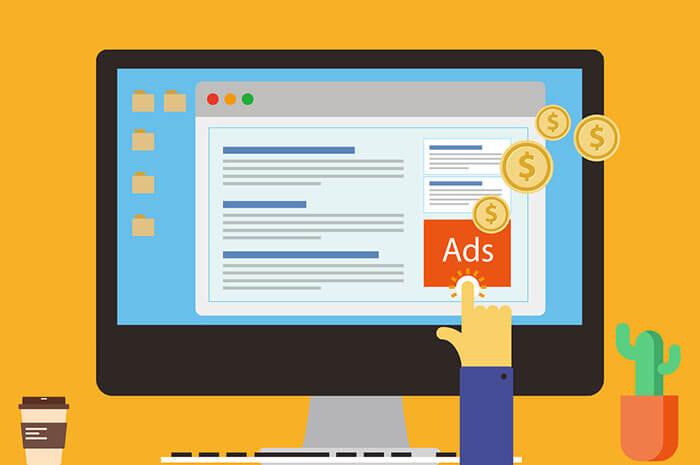 online ad