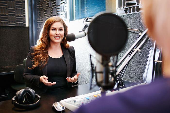 podcast lady