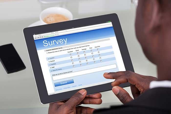 survey tablet