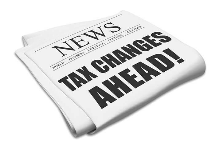 tax changes ahead