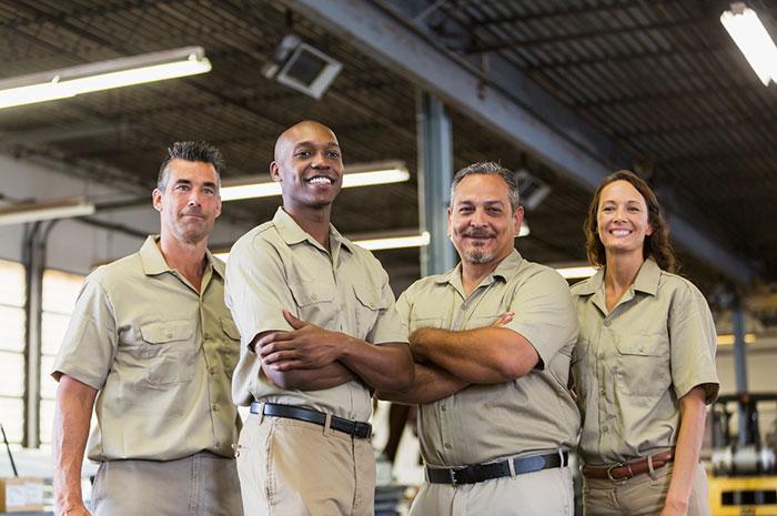 trucking company team